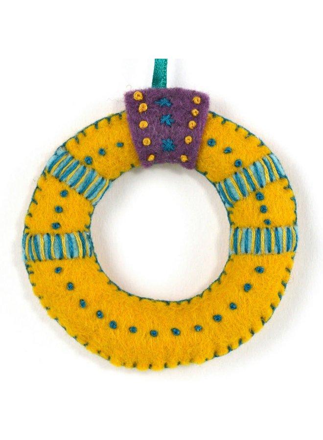 Gold Ring Felt  Craft Mini Kit