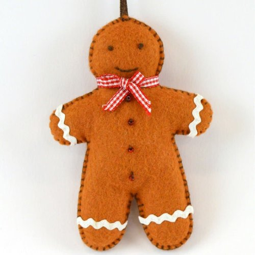 Corinne Lapierre Gingerbread Man Felt  Craft Mini Kit