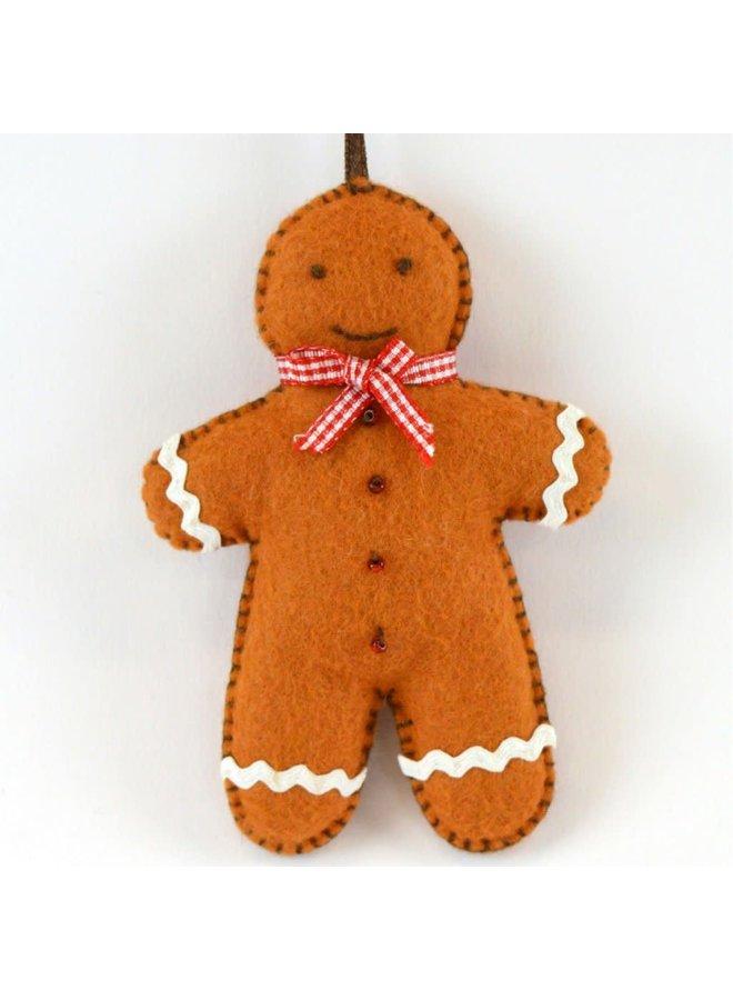 Gingerbread Man Felt  Craft Mini Kit