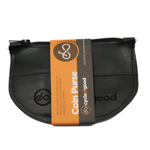 Cylcle Of Good Inner Tube Coin Purse Recylced