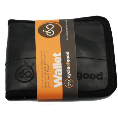 Cylcle Of Good Inner Tube Wallet Recylced