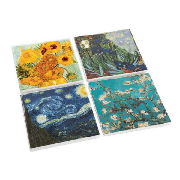 Van Gogh Sunflowers  Ceramic Coaster  046