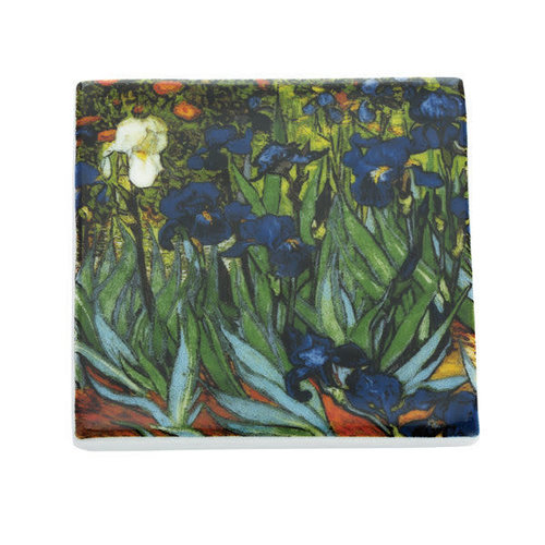 Dartington Crystal Ltd Van Gogh Irises  Ceramic Coaster  047