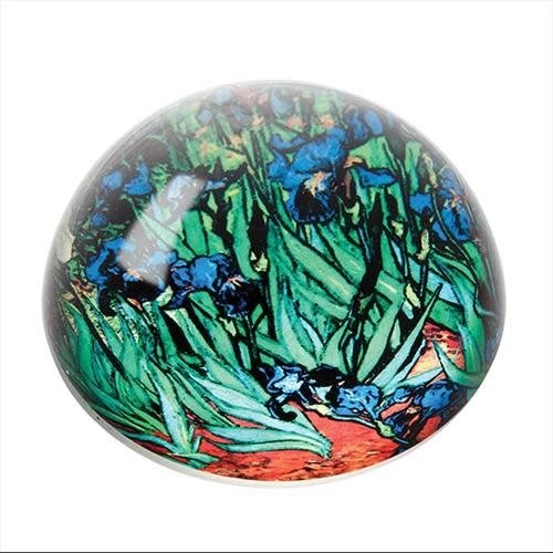 Dartington Crystal Ltd Van Gogh  Iris Paperweight 085