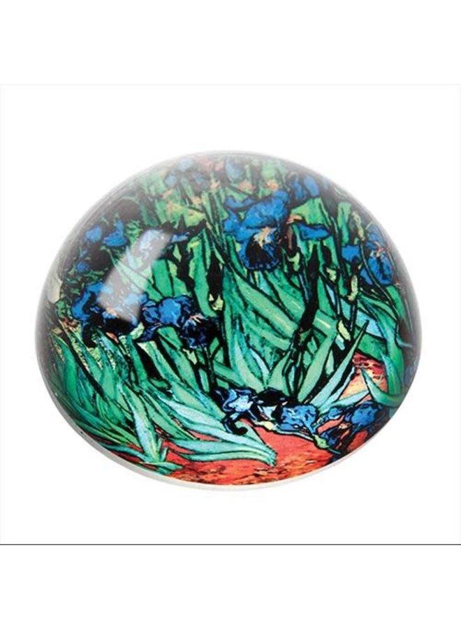 Van Gogh  Iris Paperweight 085