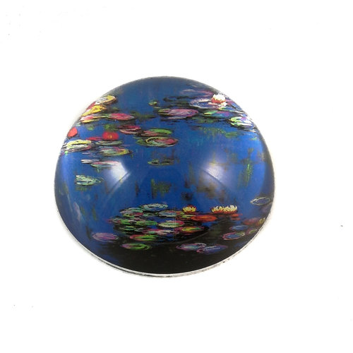 Dartington Crystal Ltd Monet Water Lilies Paperweight 091