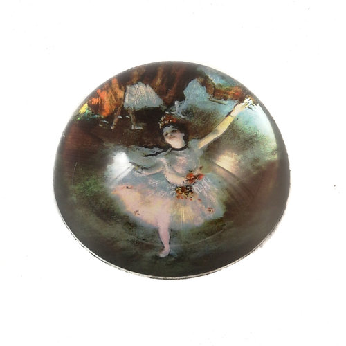 Dartington Crystal Ltd Degas Ballet Dancer  Paperweight 087