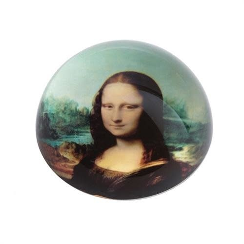 Dartington Crystal Ltd Da Vinci Mona Lisa  Paperweight 094