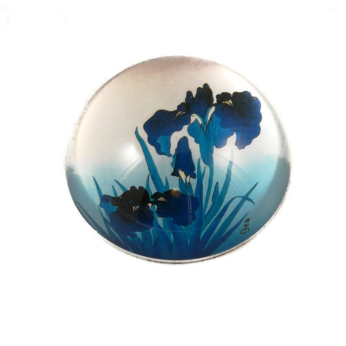 Dartington Crystal Ltd Koson Irises  Paperweight 088