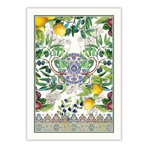 Michel Design Works Tuscan Grove Kitchen Towel