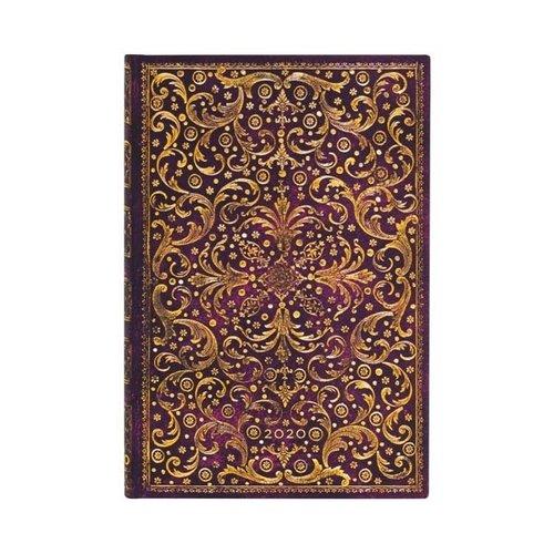 Paper Blanks Cuaderno de tapa dura 2020 Aurelia Mini Weekly