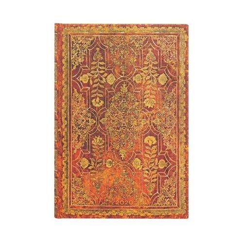Paper Blanks 2020 Persimmon Mini Weekly Diary Gebundene Ausgabe