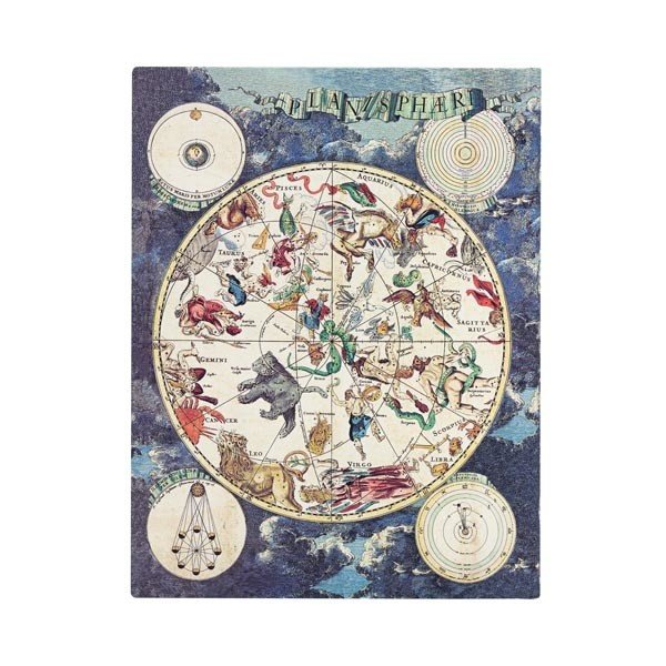 2020 Celestial Planisphere Midi Daily Diary Hardover