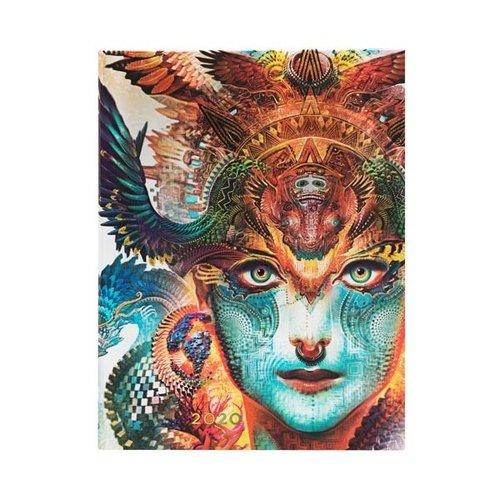 Paper Blanks Cuaderno de tapa dura 2020 Dharma Dragon Ultra Weekly
