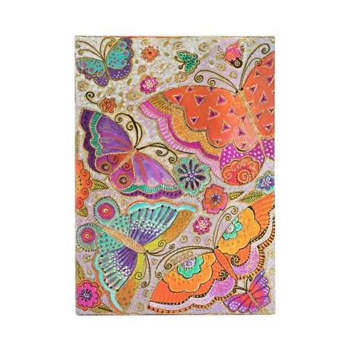 Paper Blanks Cuaderno de tapa dura 2020 Flutterbyes Maxi Weekly Diary