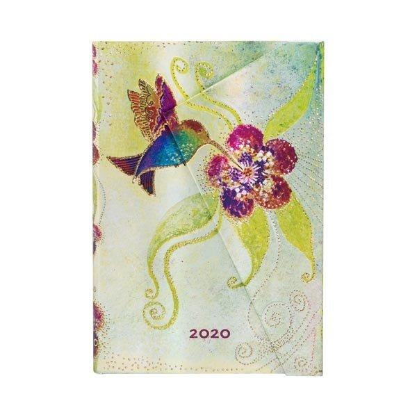 2020 Hummingbird Midi Daily Diary tapa dura