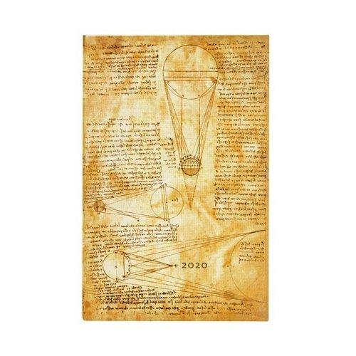 Paper Blanks 2020 Leonardo Sun & Moonlight Maxi Weekly Diary Gebundene Ausgabe