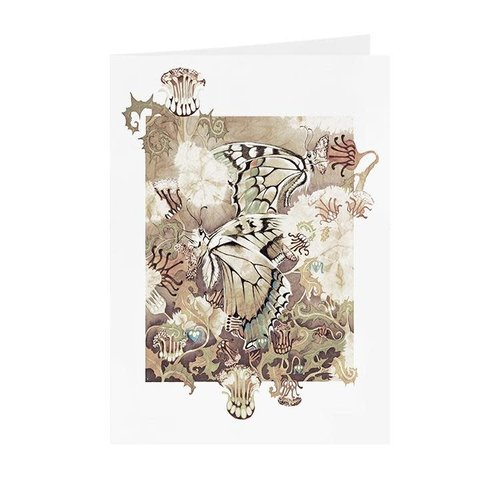 Juppi Butterflies  card 11