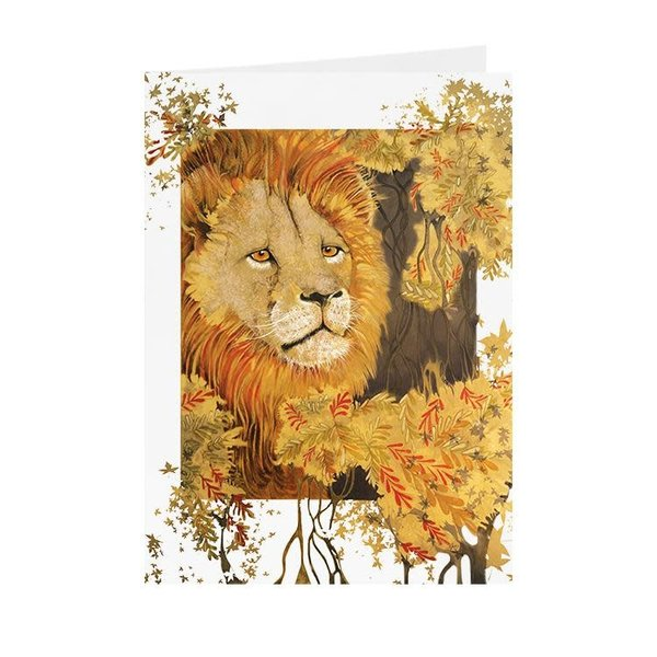 Lion card 12