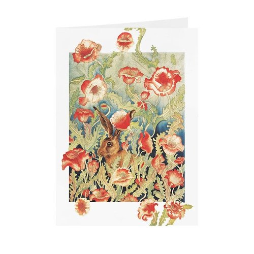 Juppi Poppies & Harecard 13