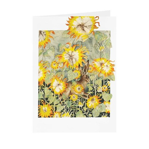 Juppi Sunflowers and Hare  card 10
