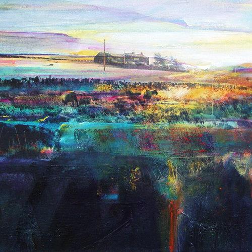 Kate Boyce Art Brigg Well Head, Wadsworth Moor card  04