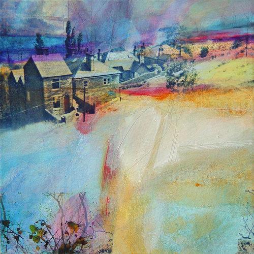 Kate Boyce Art Copy of Mist over Calder Valley card 01