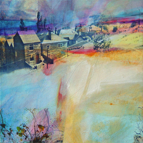 Kate Boyce Art Out of the Woods, Lee Wood Road card  02