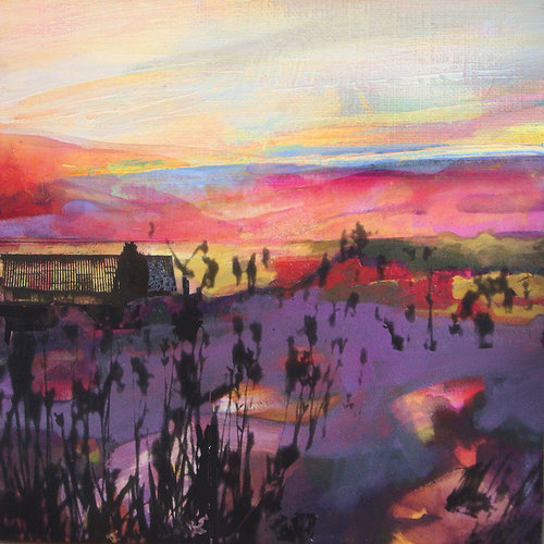 Kate Boyce Art Copy of Hebden Water, source of Industry card  08