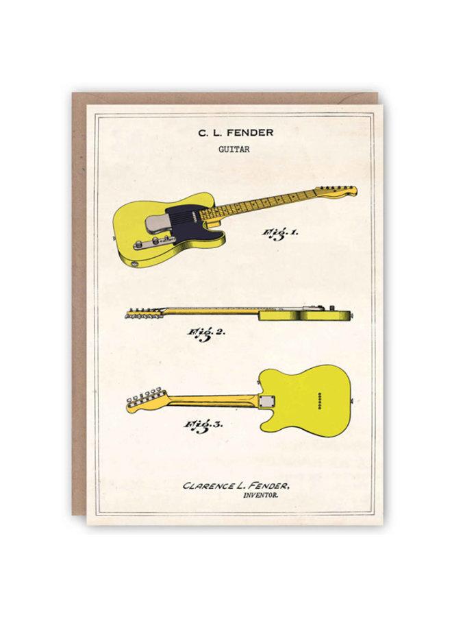 Fender Telecaster Pattern Book Card