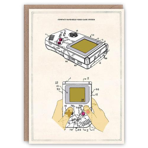 The Pattern Book Tarjeta de libro de patrones de Game Boy