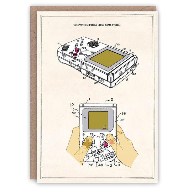 Tarjeta de libro de patrones de Game Boy
