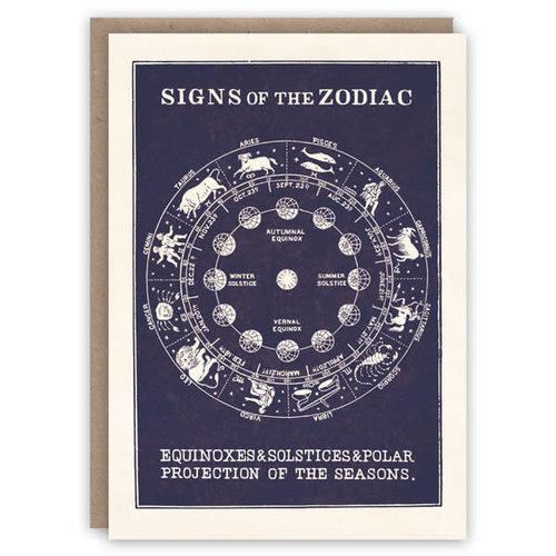 The Pattern Book Zodiac Pattern Book Card