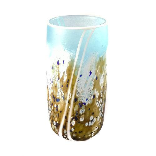 Martin Andrews Kleine gerade Vase 80 der Strandserie