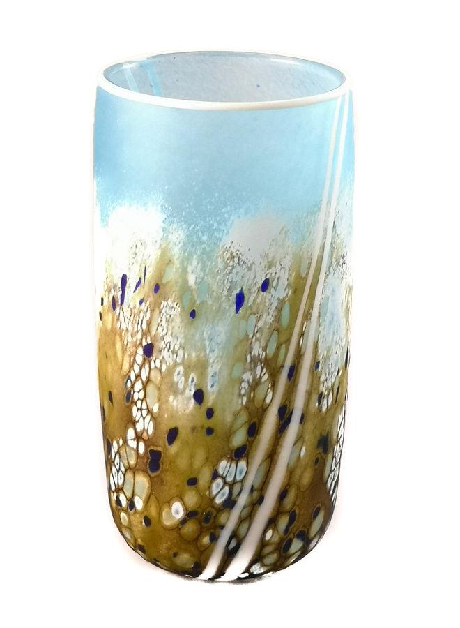 Kleine gerade Vase 80 der Strandserie