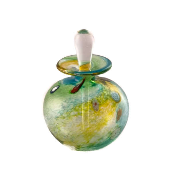 Salsa gold round smal perfume bottle 92