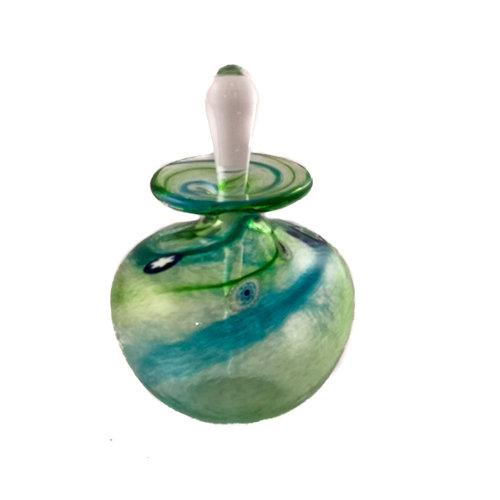 Martin Andrews Salsa grüne runde kleine Parfümflasche 90