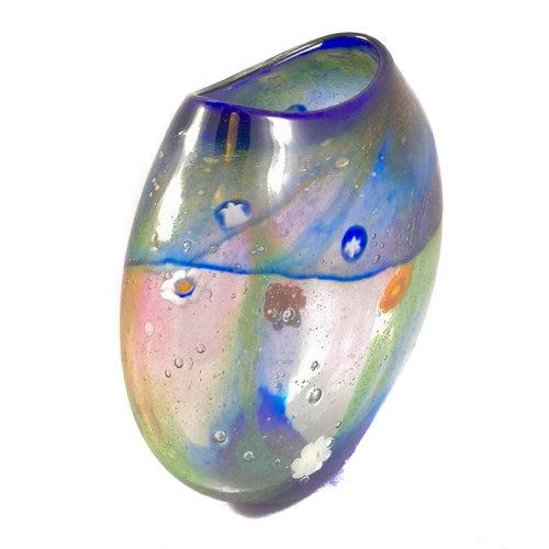Martin Andrews Salsa medium ltd edition flat vase 76