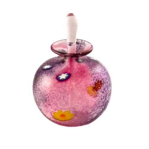 Martin Andrews Frasco de perfume pequeño redondo de salsa púrpura 87