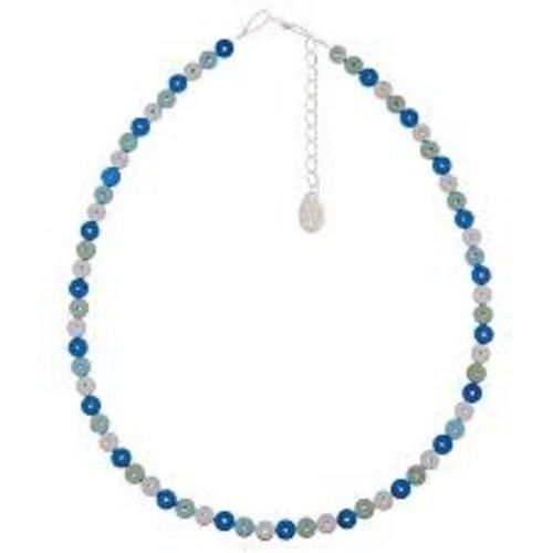 Carrie Elspeth Collar Capsule Bead Blue -