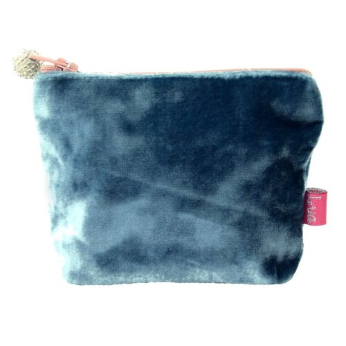 LUA Mini Velvet Purse Teal 217