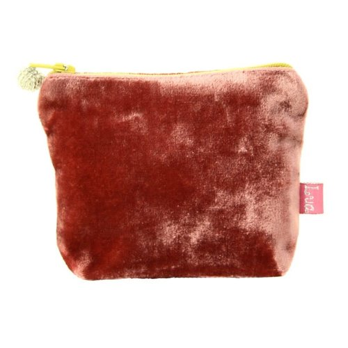 LUA Mini Velvet Purse Rosewoos 219