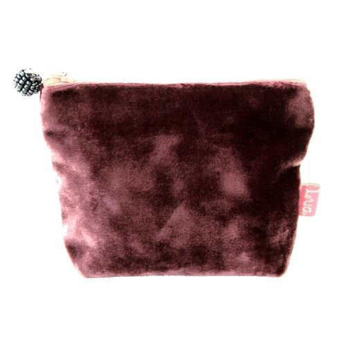 LUA Mini Velvet Purse Mulberry 223