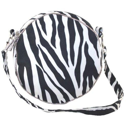 LUA Runde Gurttasche mit Zebradruck 235