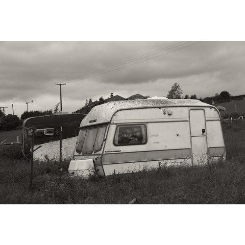 Greg Hobson Long Causeway. Caravans