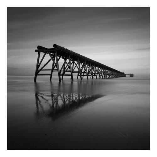 Peter Defty Steetley Peir, Hartleypool - Serie Elementos del paisaje