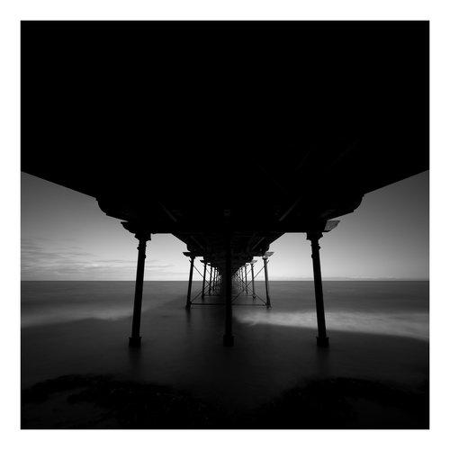 Peter Defty Saltburn Pier - Elemente der Landschaftsserie