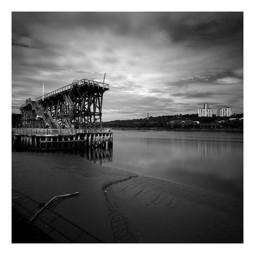 Peter Defty Dunston Straithes, Newcastle - Elemente der Landschaftsserie