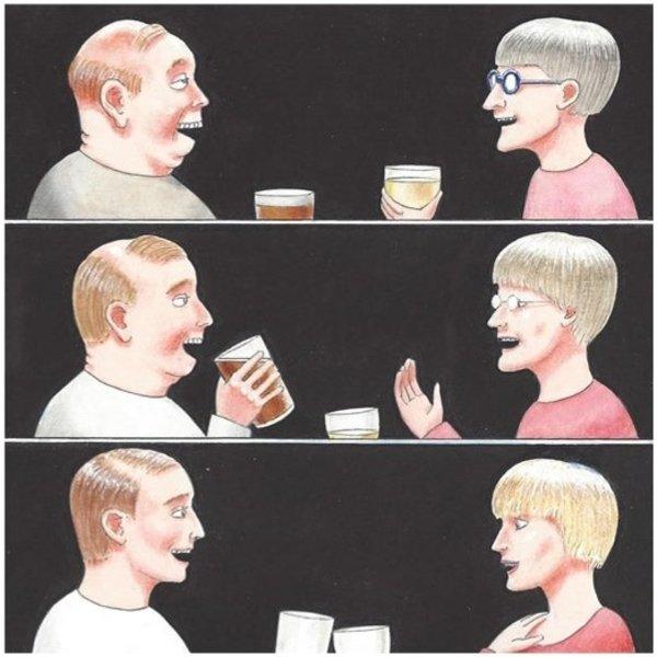 Drunk Humorous card 18