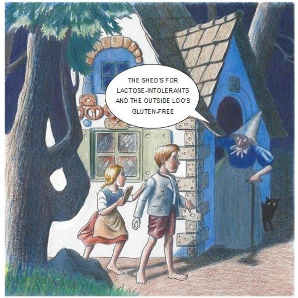 Handsel & Gretel Humorous card 07